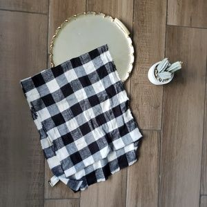 Express Plaid Flannel Blanket Scarf Wrap Check